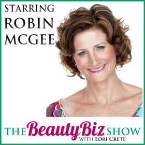 Robin McGee on Beauty Biz Show