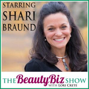 Shari Braund on Beauty Biz Show with Lori Crete