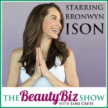 Bronwyn Ison on The Beauty Biz Show with Lori Crete