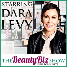 Dara Levy on The Beauty Biz Show with Lori Crete