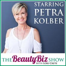 Petra Kolber on The Beauty Biz Show with Lori Crete
