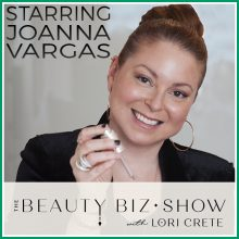 Joanna Vargas on The Beauty Biz Show(1)