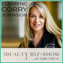 Corry Jennison on The Beauty Biz Show