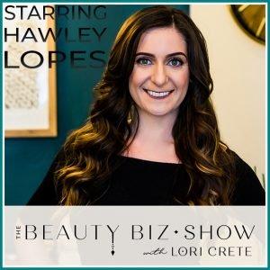 Hawley Lopes on The Beauty Biz Show