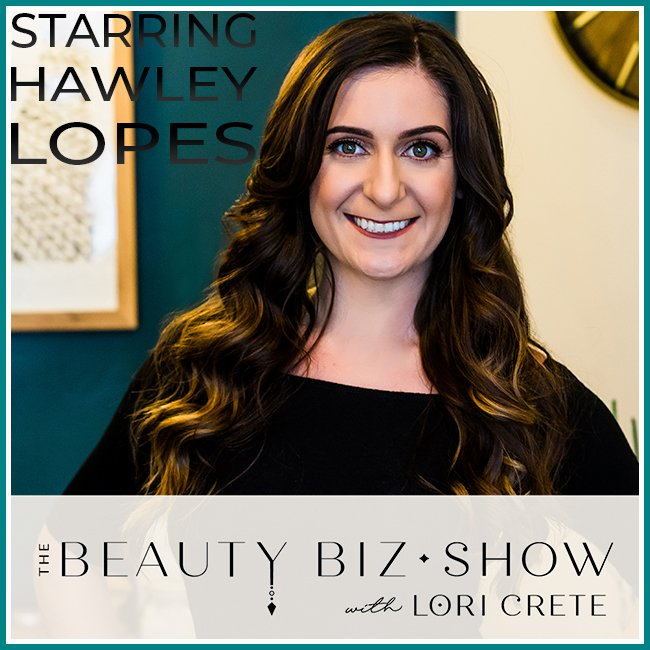 Hawley Lopes on The Beauty Biz Show