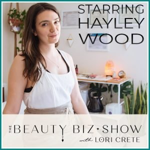 Hayley Wood on The Beauty Biz Show