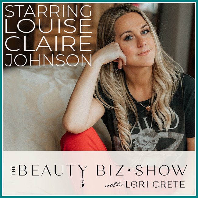 Louise Claire Johnson on The Beauty Biz Show with Lori Crete